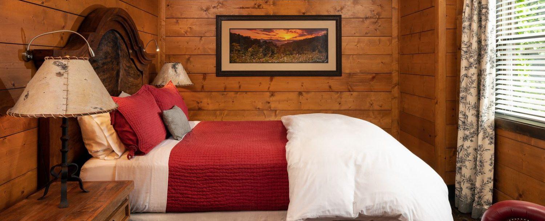 Cedar Room-side of bed