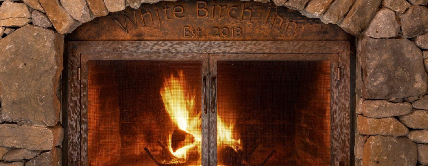 Fireplace close up - hero