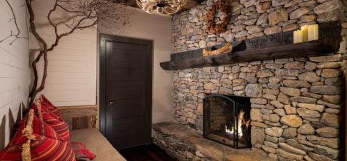 Hemlock Suite Fireplace