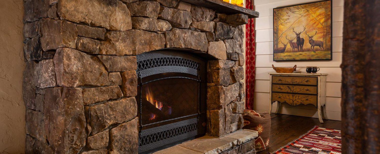 Mountain Laurel Suite-Fireplace