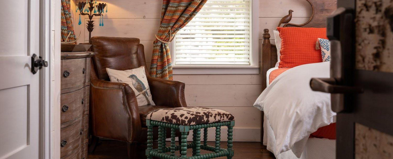 Persimmon Room- Chair ottoman-horizontal