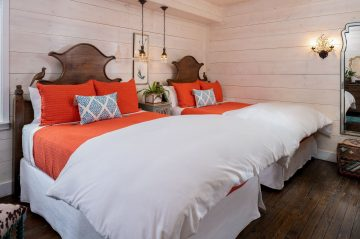 Persimmon Room- both beds