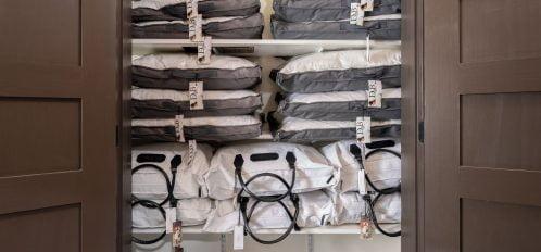 Pillow closet