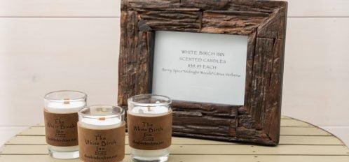 White Birch Candles