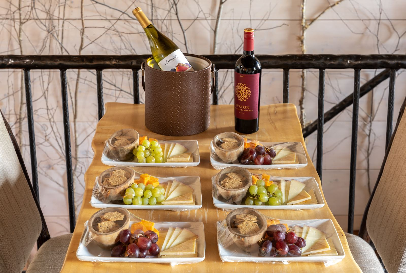 Wine and Cheese- Covid