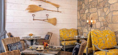 Breakfast Room- Brooms wall