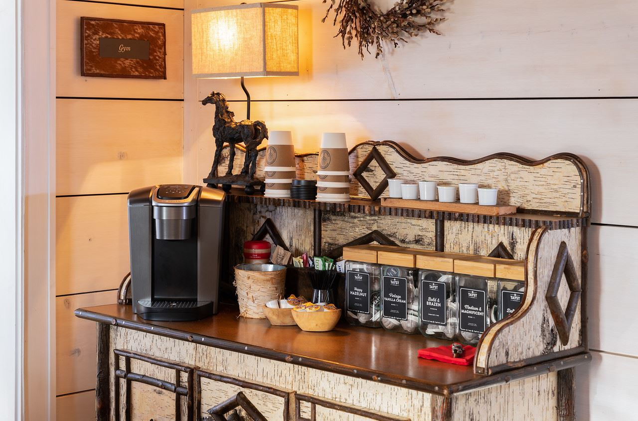 Coffee Station up in lounge